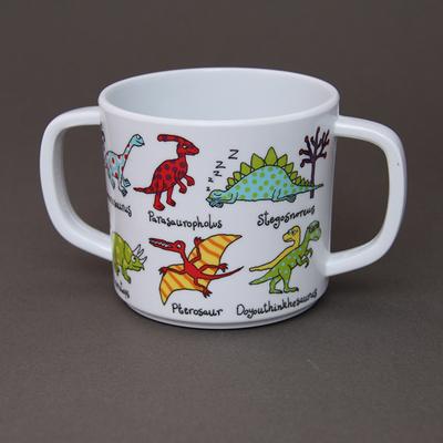 Tasse deux anses Dinosaures