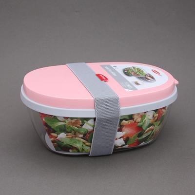 Boite à salade Ellipse rose