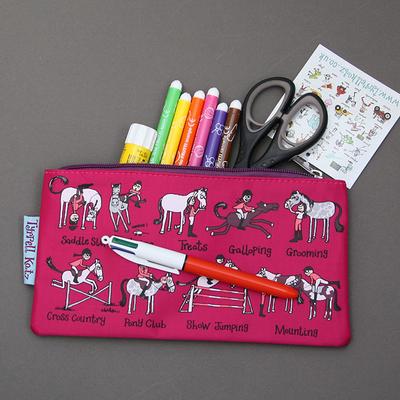 Trousse à crayons Cheval
