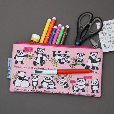 Trousse à crayons Pandas