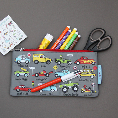 Trousse à crayons Voitures et camions