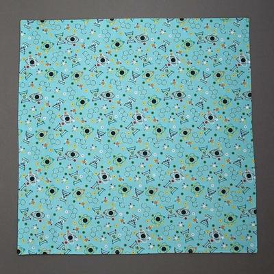 Grande serviette de table enfants Atomes et Molécules