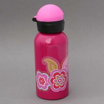 Gourde en inox Fleur de Cachemire sans BPA