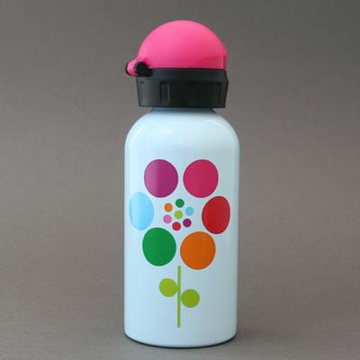 Gourde en inox sans BPA Fleurs