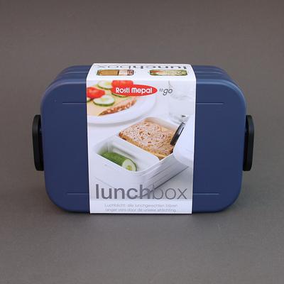 Boite à déjeuner sans BPA Bleu denim