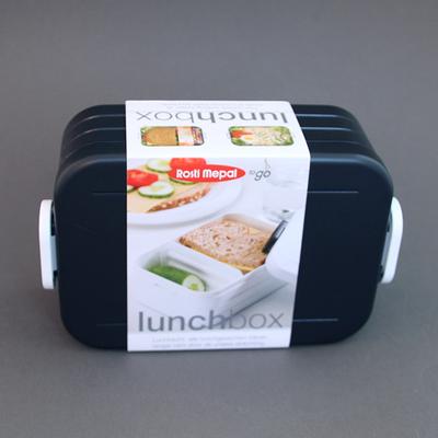 Boite à déjeuner sans BPA Noire