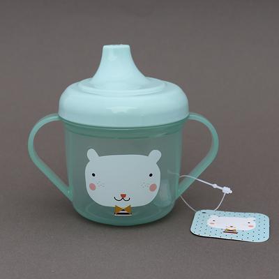 Tasse d'apprentissage sans BPA pour bébé Ours bleu