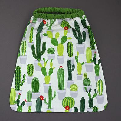 Serviette de cantine enfant élastique Les cactus