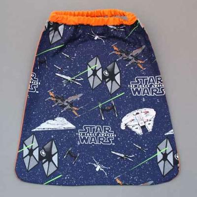 Serviette de table enfant Star Wars cou élastiqué