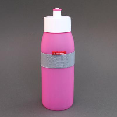 Gourde de sport sans BPA rose vif