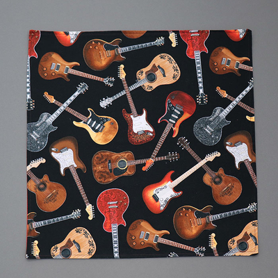 Grande serviette de table enfant Guitares