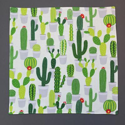 Grande serviette de table enfant Les cactus