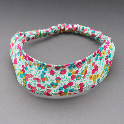 Bandeau cheveux enfant Liberty Wiltshire tropical
