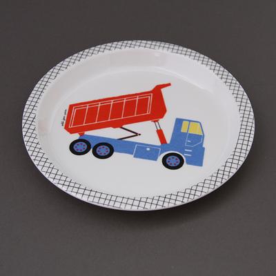 Petite assiette creuse pour enfant Camion benne