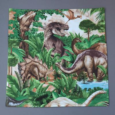 Grande serviette de table enfants Dinosaures