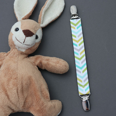 Attache doudou Chevrons