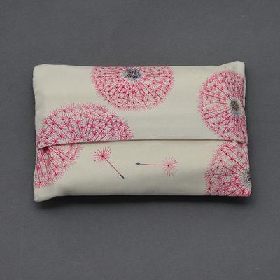 Etui à mouchoirs en Liberty Fairy clock rose