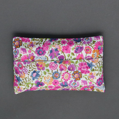 Etui à mouchoirs en Liberty Kaylie sunshine rose