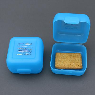 Deux petites boite à gouter sans BPA Les requins