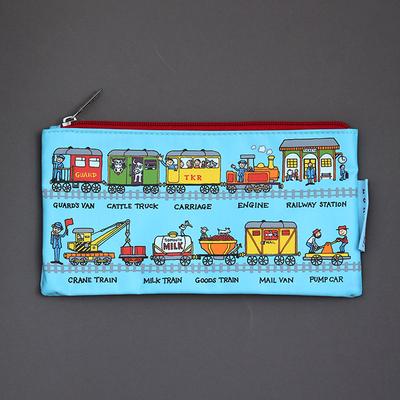 Trousse à crayons Trains