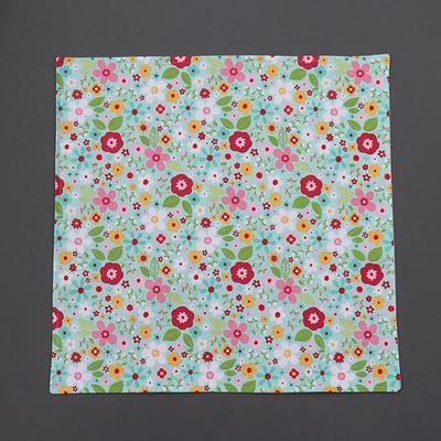 Grande serviette de table enfant Fleurs