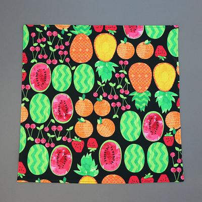 Grande serviette de table enfant Fruits