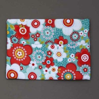 Pochette pour serviette enfant Fleurs