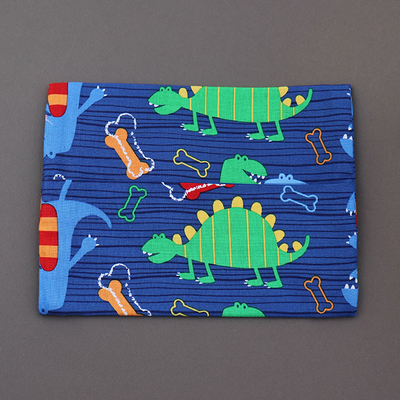 Pochette pour serviette enfant Dinosaure