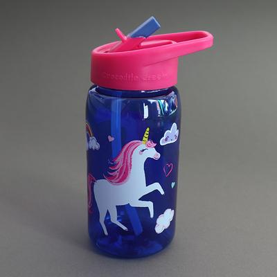 Gourde avec paille sans BPA Ma licorne