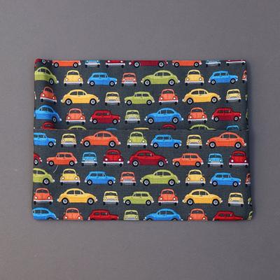 Pochette pour serviette enfant Petites voitures