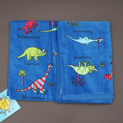 Serviette de bain ou de plage pour enfant Dinosaures
