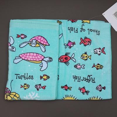Serviette de bain pour enfant Sirènes