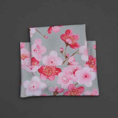 Serviette de table enfant et pochette Fleurs de cerisier