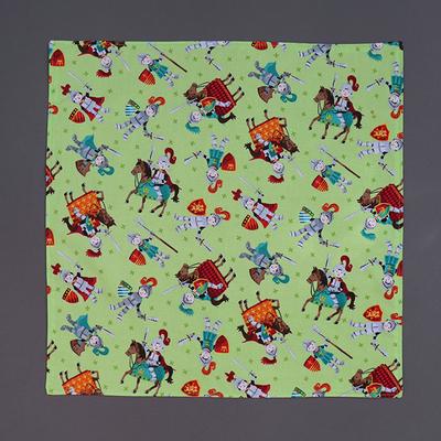 Grande serviette de table enfant Chevaliers