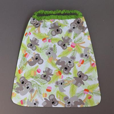 Serviette de table cou élastique Koalas