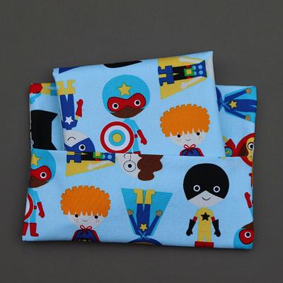 Serviette de table enfant et pochette  Super héros