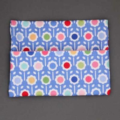 pochette pour serviette enfant Fleurs rondes