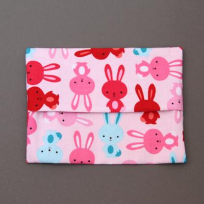 Pochette pour serviette enfant Les lapins