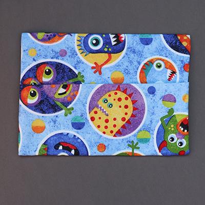 Pochette pour serviette de table Monstres pour enfant