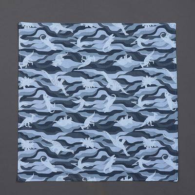 Grande serviette de table enfant Les dinosaures