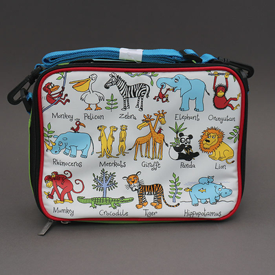 Lunch bag isotherme pour enfant Jungle