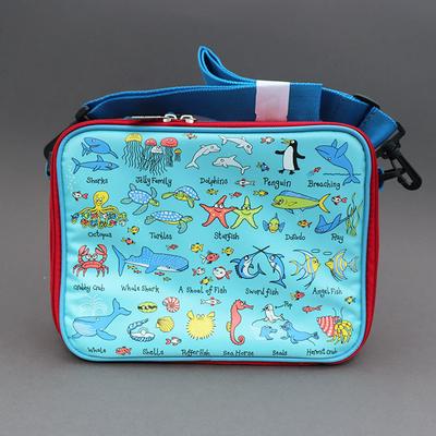 Lunch bag isotherme pour enfant Océan