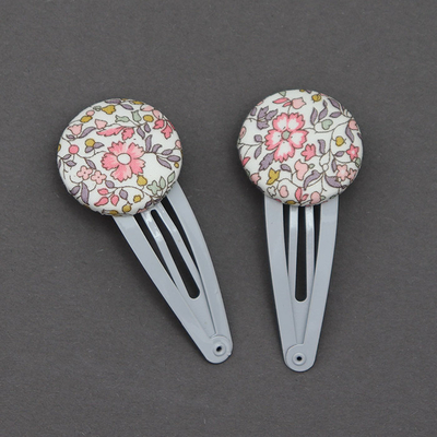 Duo de barrettes enfant en Liberty Katie and Millie