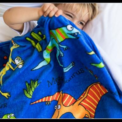 Couverture - plaid pour enfants Dinosaures