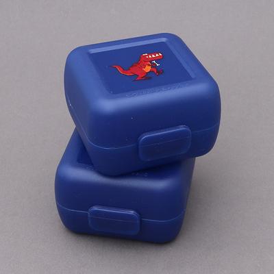 2 petites boites à goûter sans BPA dinosaure T-Rex