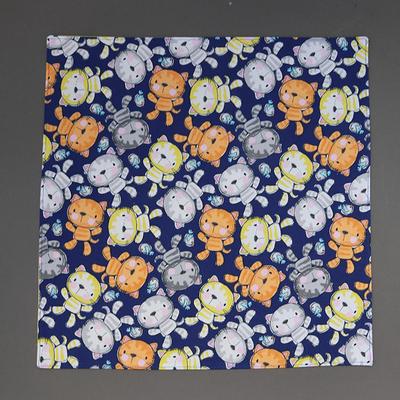 Grande serviette de table Les chats pour enfant