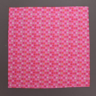 Grande serviette de table enfants Petites fleurs