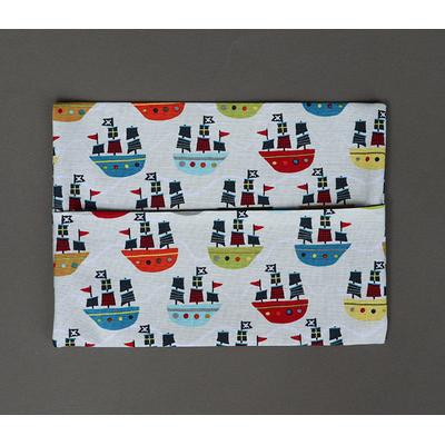 Pochette pour serviette de table enfant Bateaux pirate