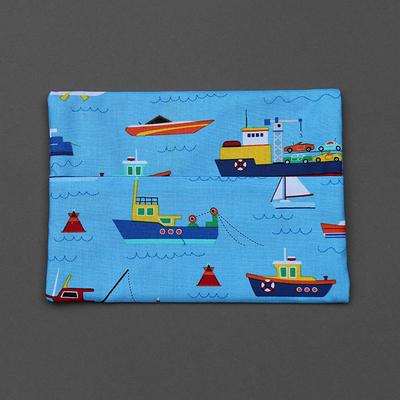 Pochette pour serviette enfant Les bateaux