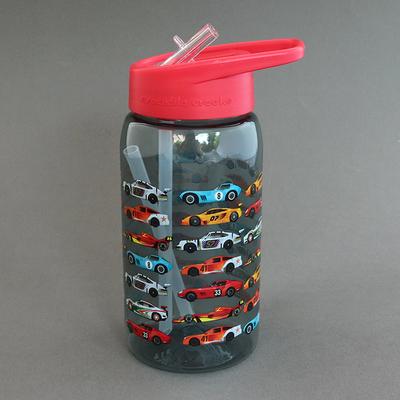 Gourde avec paille sans BPA Voitures